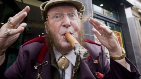 The one and only John McCririck.